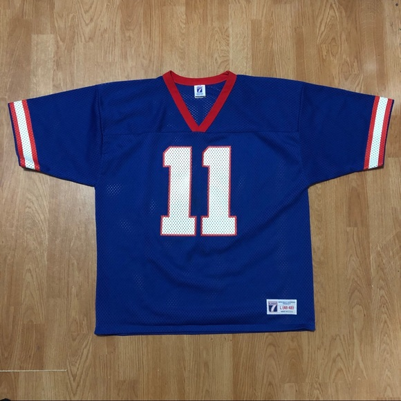 LOGO 7 Other - VINTAGE Phil Simms Logo 7 New York Giants Jersey